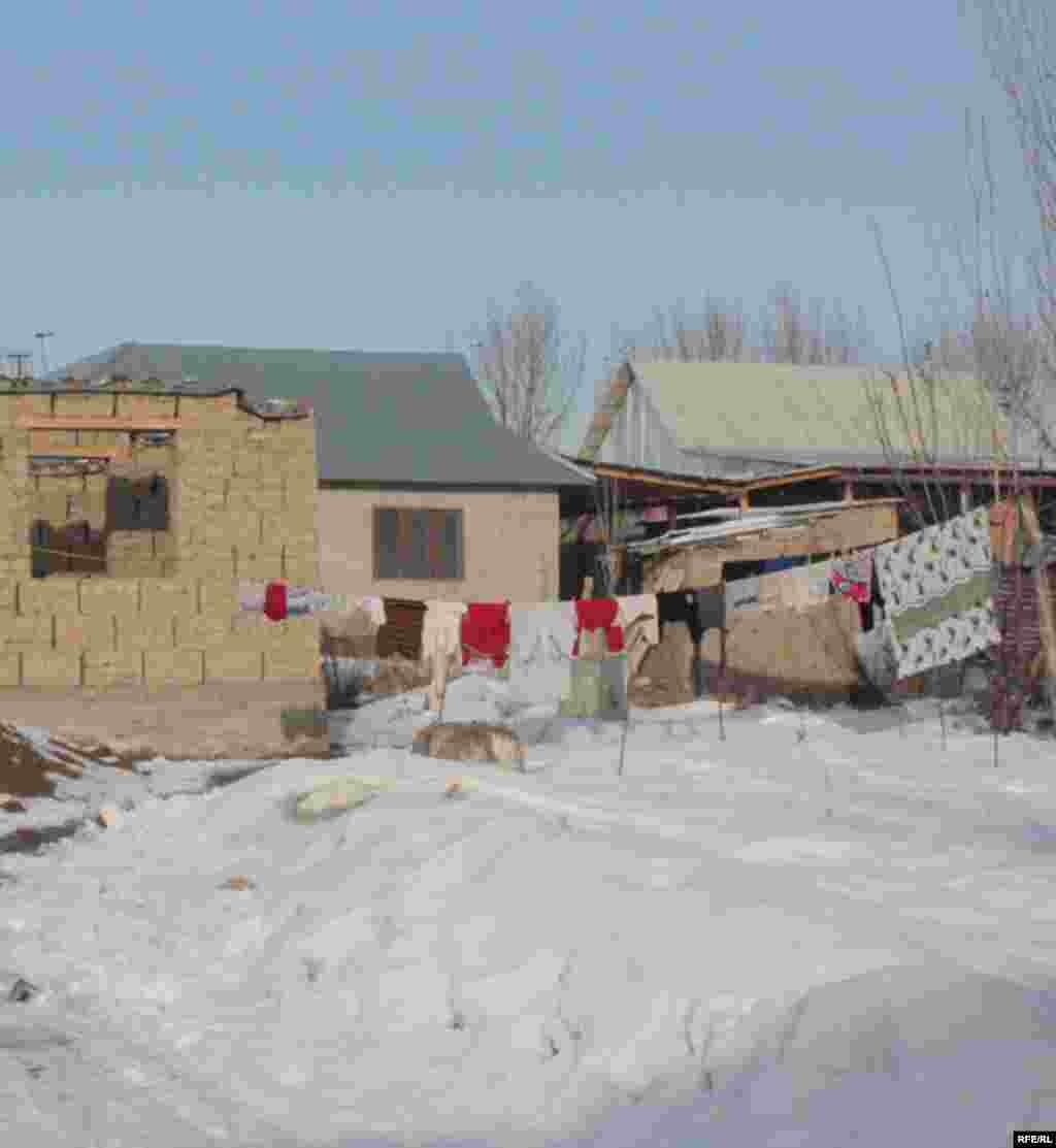 Бишкекские новостройки зимой #5