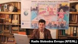 Александар Цветкоски, претседател на НВО АГТИС.