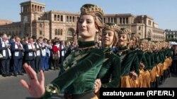 Տեսարան «Էրեբունի-Երևան» տոնակատարությունից, 2014թ․
