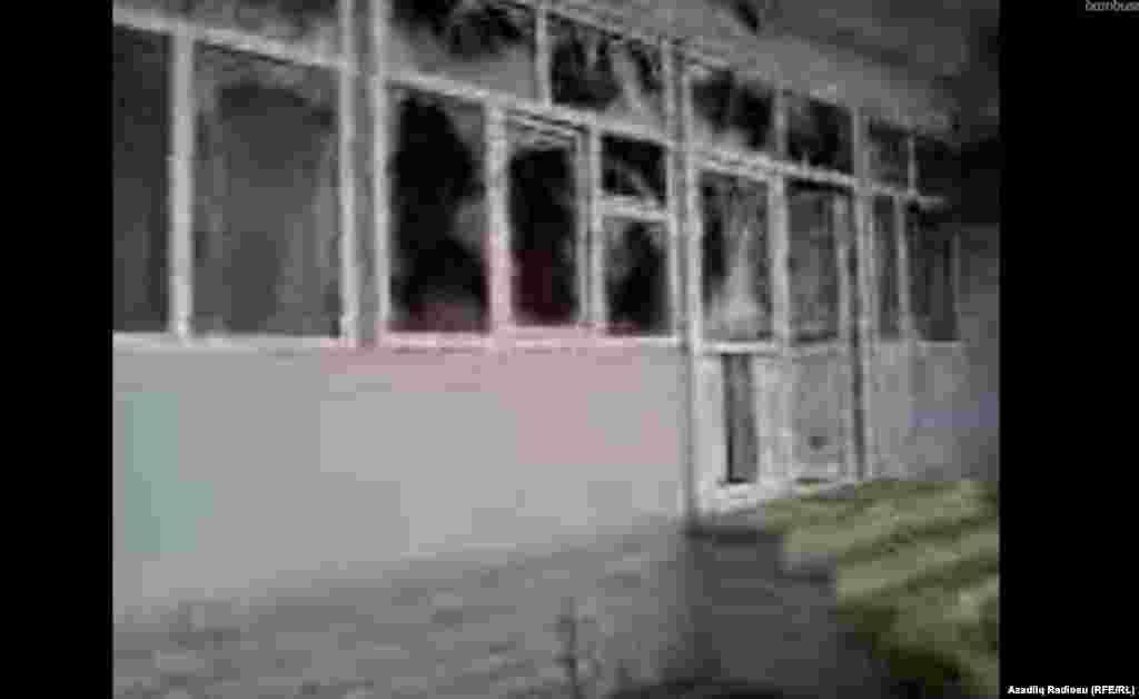 Вид части здания исполнительной власти Губинского района