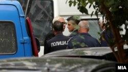 Бојан Јовановски - Боки 13 со полициска придружба беше донесен на распит во Обвинителство