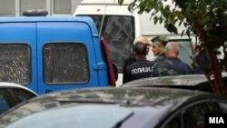 Сккопје- Бојан Јовановски на распит во Обвинителството за гонење на организиран криминал и корупција, 23.09.2019