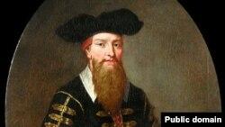 На портрете XVII века Иоганн Георг Фауст (1480-1540) - алхимик, астролог и маг времен немецкого Ренессанса
