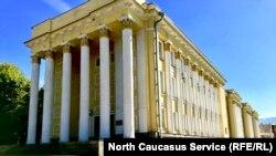 Северо-Осетинский государственный университет (СОГУ), архивное фото