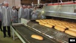 Илустрација- фабриката за леб Жито Лукс во Скопје