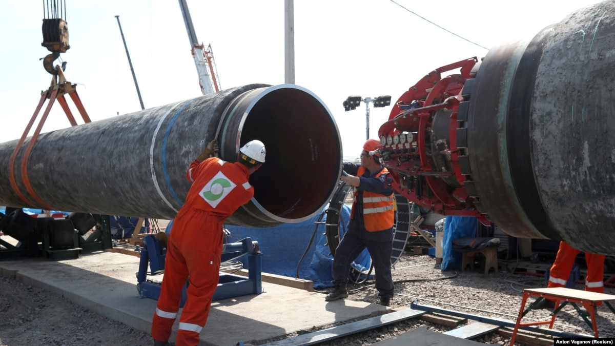 Clock Ticking In Congress As Russia Presses Ahead With Nord Stream 2 Gas Pipeline