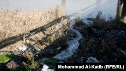 مياه ثقيلة تصب في نهر دجلة