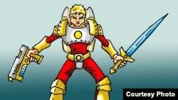 Mакедонски анимиран суперхерој Македон.
