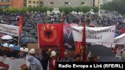Protest ratnih veterana u Prištini