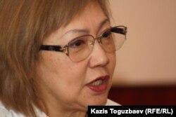 Розлана Таукина, редактор «Правдивой газеты». Алматы, 18 апреля 2014 года.