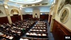 Архива :Седница во Собранието на Македонија.