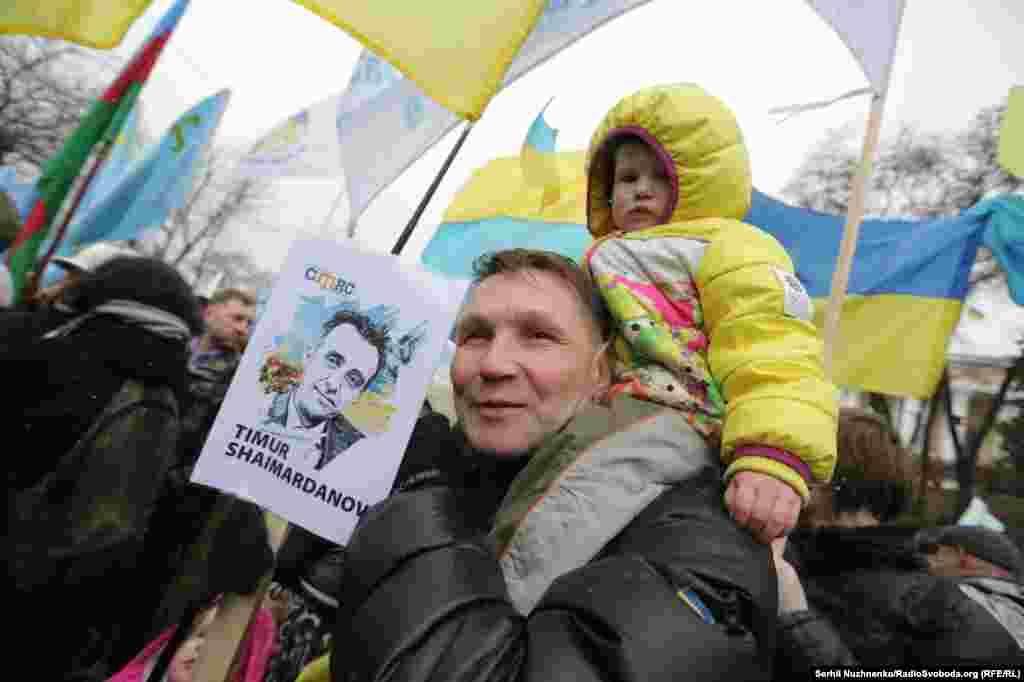 После аннексии Крыма российские силовики преследуют активистов, которые 26 февраля 2014 года принимали участие в митинге под здание Верховной Рады полуострова