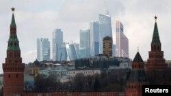 Տեսարան Ռուսաստանի մայրաքաղաք Մոսկվայից, արխիվ