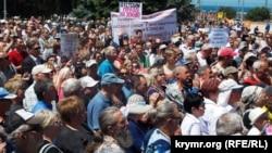 Мітинг проти проекту генплану Севастополя, 27 травня 2017 року