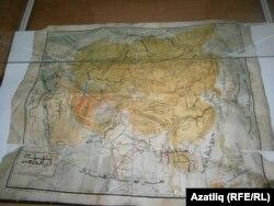 Азия кыйтгасы харитасы