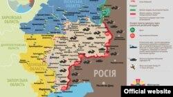 Ситуація в зоні бойових дій на Донбасі, 18 травня 2015 року