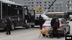 Бостон полициясы (Көрнекі сурет).