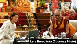 Лера Барадзіцкая і Далай-лама