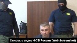 Дмитро Долгополов під час допиту