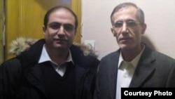 احمد ملکی (راست) دیپلمات ایرانی در ایتالیا همراه با محمدرضا حیدری، کنسول سابق ایران در نروژ/ عکس: سایت گویا