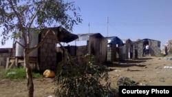 مخيم لنازحين سوريين داخل الاراضي العراقية