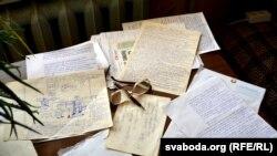 Працоўны стол пэнсіянэра Грысімава