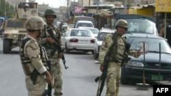 دورية أمنية من الجيش العراقي في الموصل