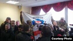 Бывший боец спецназа МВД Грузии Георгий Церцвадзе останется в предварительном заключении как минимум до 3-го февраля. Фото: censor.net.ua