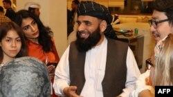 د طالبانو د سیاسي دفتر ویاند سهیل شاهین