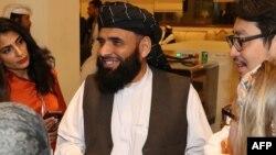 سهیل شاهین سخنگوی دفتر طالبان