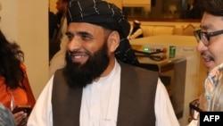 سهیل شاهین، سخنگوی گروه طالبان در قطر