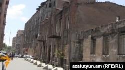 Աֆրիկյանների շենքը Երևանում, արխիվ