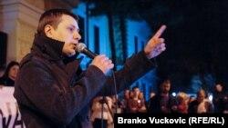 Marčelo u obraćanju građanima u Kragujevcu