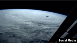 Storm above Earth, 9Oct2014