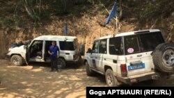 Ситуацию на месте отслеживают сотрудники наблюдательской миссии ЕС