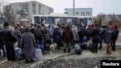 Евакуація людей з Дебальцева. 5 лютого 2015 року