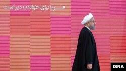 Hassan Rouhani Tehran Beynəlxalq Kitab Sərgisində