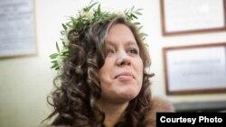 Евгения Тарасова в день свадьбы