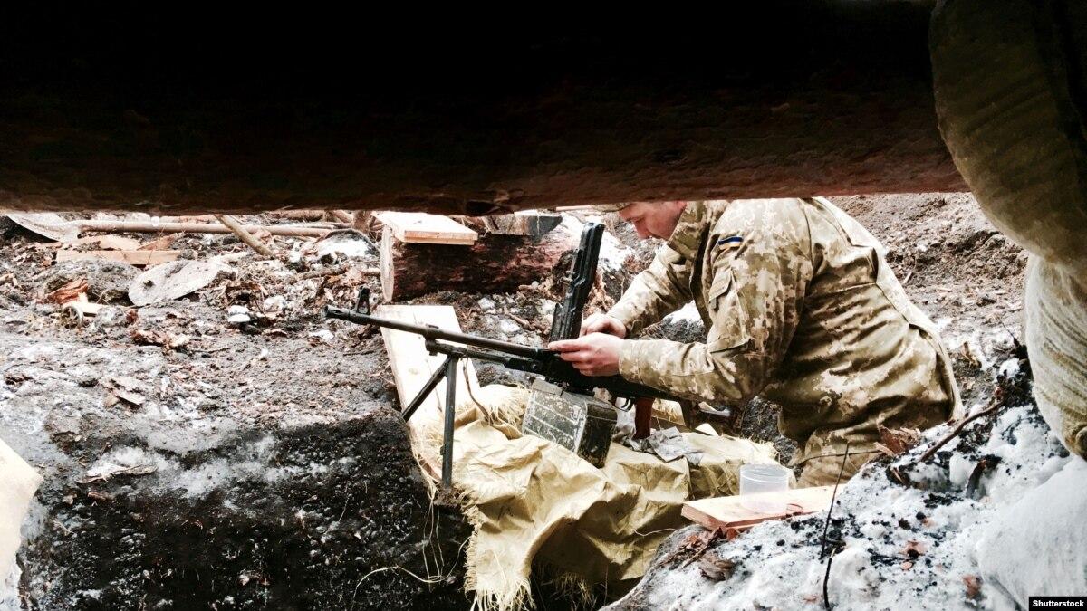 ООС: разведчики захватили в плен боевика «ДНР»