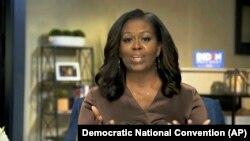 Bivša prva dama SAD-a Michelle Obama tokom govora prve noći Demokratske konvencije