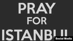 Turkey -- Pray for Istanbul, social networks