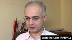 Заместитель председателя партии «Армянский национальный конгресс» Левон Зурабян (архив)