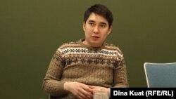 Арсен Кудабаев, один из сооснователей сети наблюдателей Next.kz.