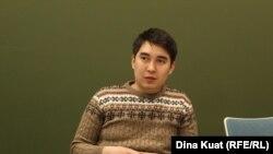 Один из руководителей проекта Next.kz Арсен Кудабаев.