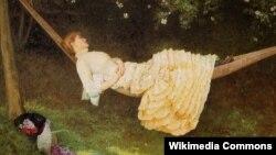 Эдвард Кілінуарт Джонсан, «Гамак» (1881)