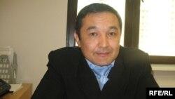 Казахский космонавт Айдын Аимбетов. Астана, октябрь 2009 года.