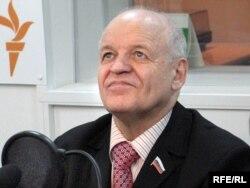 Депутат Госдумы Виктор Черепков в студии Радио Свобода, 2007