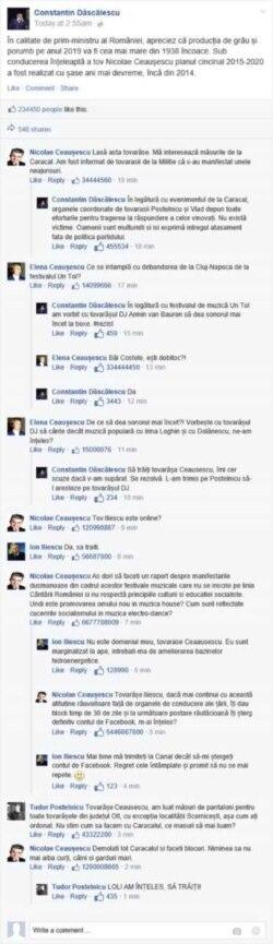 Romania- meme Facebook