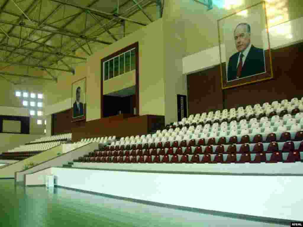 Azerbaijan -- Masalli Olympic Complex, Feb2008