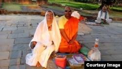 Вероника Боде в Индии